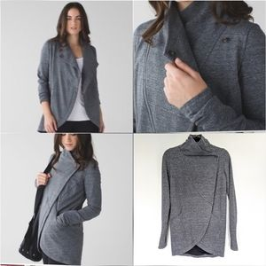 Lululemon That's A Wrap Jacket Gray Size 4